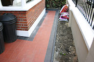 After exterior tiling picture - click for Gallery