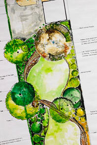 Landscape design picture - click for Gallery